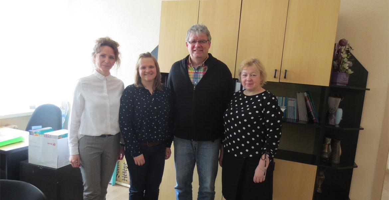 Факультет иностранных языков посетили представители института имени Гёте