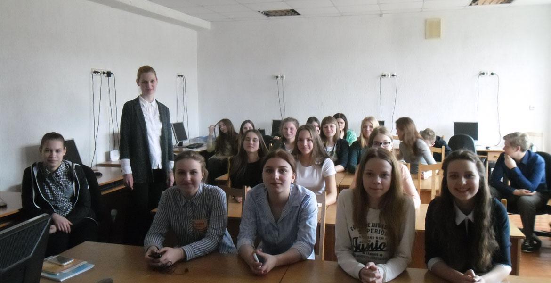 Встреча с выпускниками средней школы агрогородка Межисетки