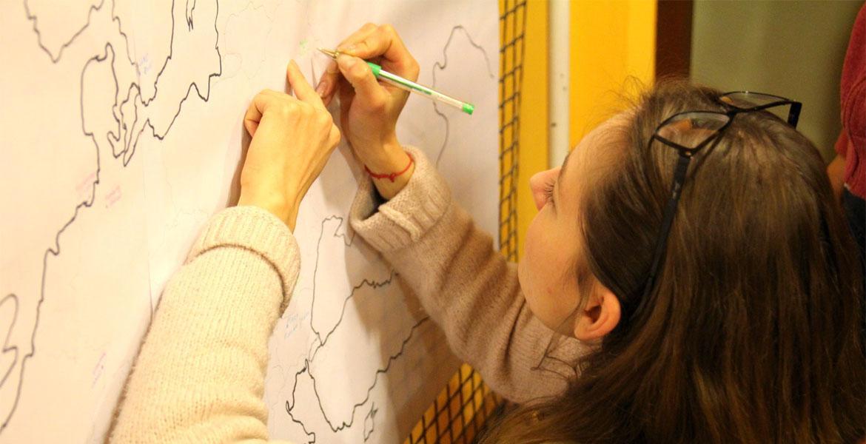 Студенты 5курса на проекте Erasmus+